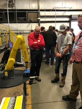 McBee 2017 MFG Day Robot